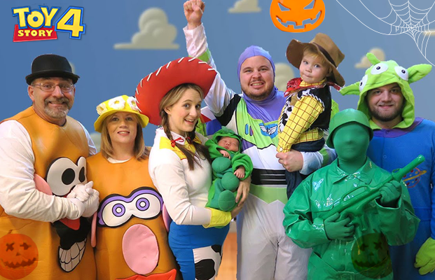 Toy Story 4 Halloween Costumes